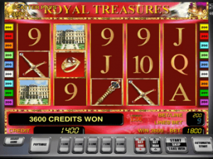 Royal Treasures бесплатно в казино